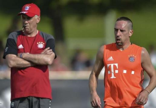 Ribery tin vào tân HLV Ancelotti hơn thầy cũ Pep