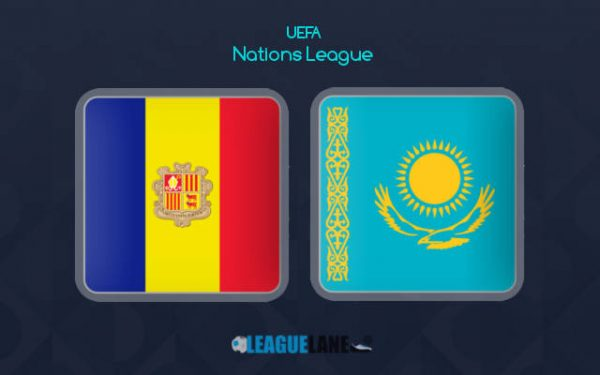 Andorra vs Kazakhstan (01h45 ngày 11/09, UEFA Nations League)