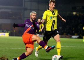 Burton Albion - Man City: Siêu sao lập công