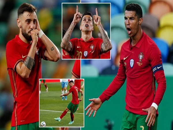Bóng đá QT 10/6: Bồ Đào Nha thắng giòn giã trước ngày ra quân ở Euro 2020
